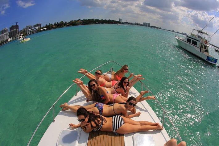 bachelorette boat rentals