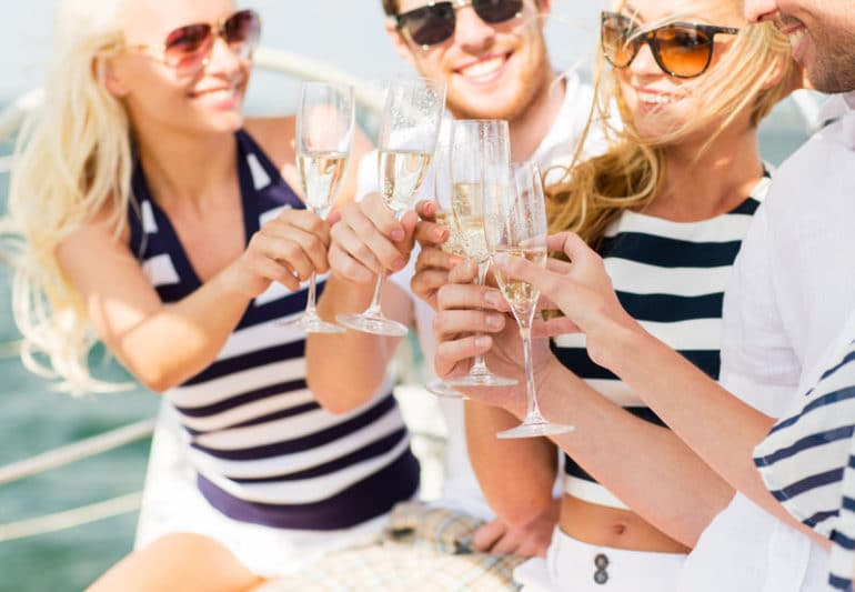 wedding yacht rentals