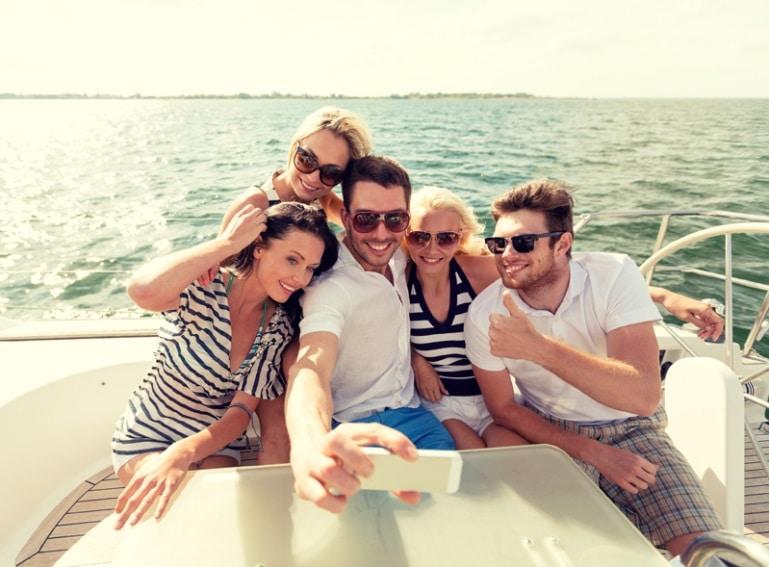Summer boat rentals