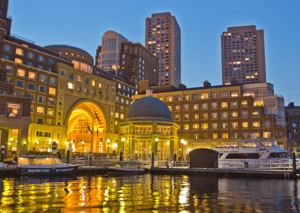 Boston Harbor Hotel at Rowes Wharf