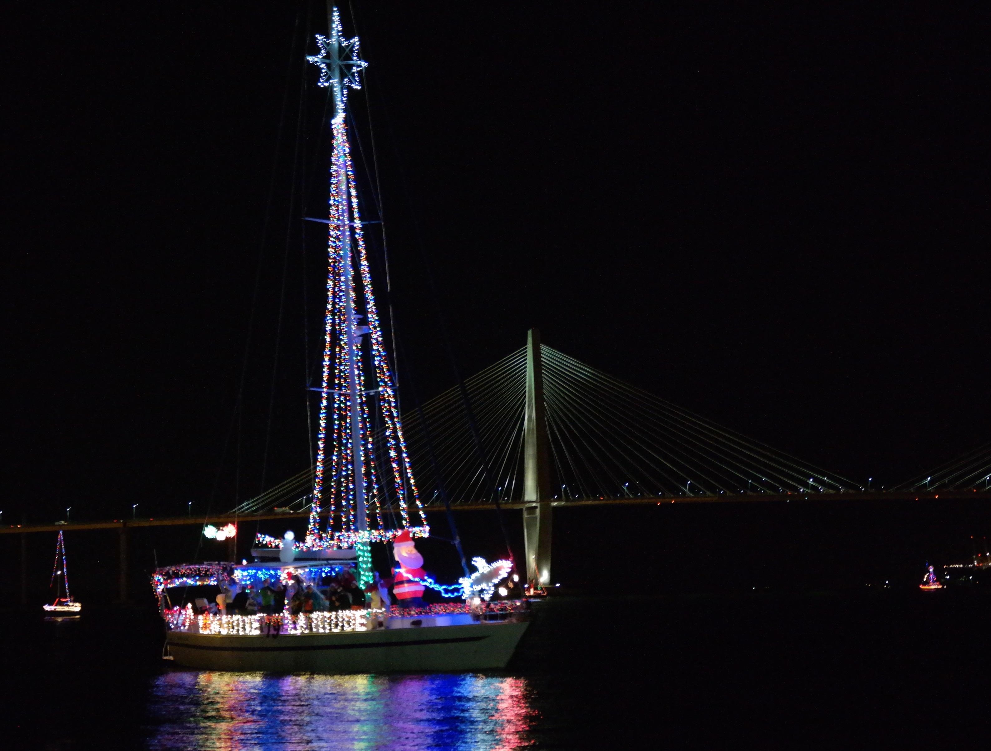 Charleston Parade of Boats