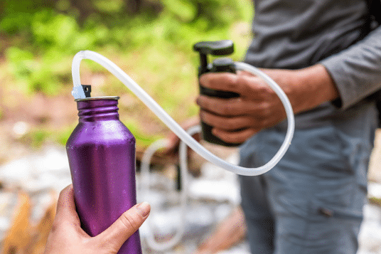 water filter gift