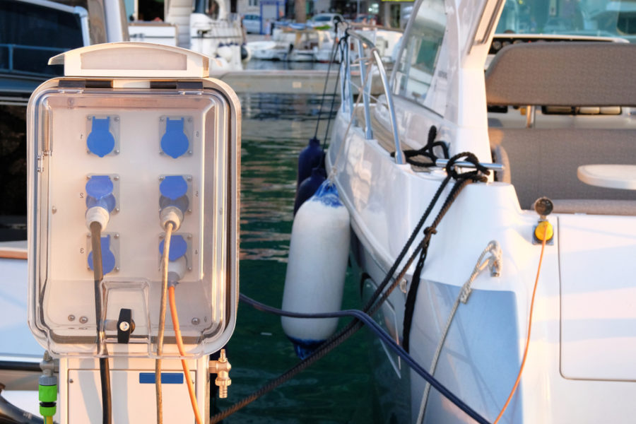Electric boat charging to help environment