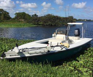 Flats boat