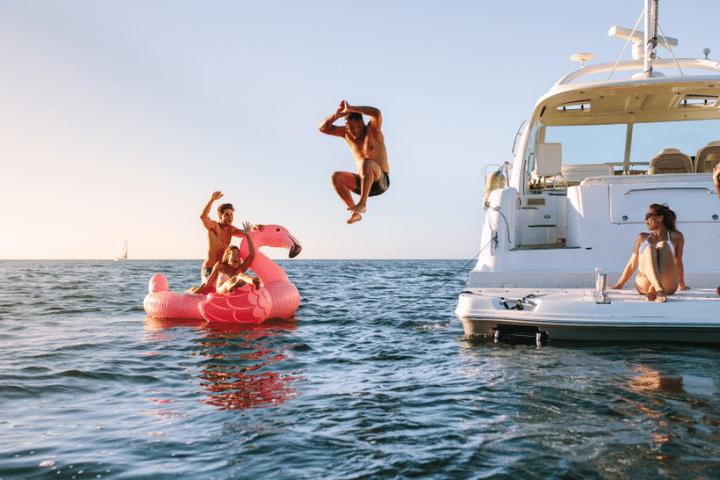 yacht birthday party