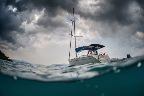 bad weather sailing